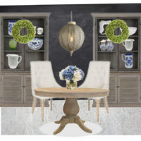 Rustic Global Dining Room