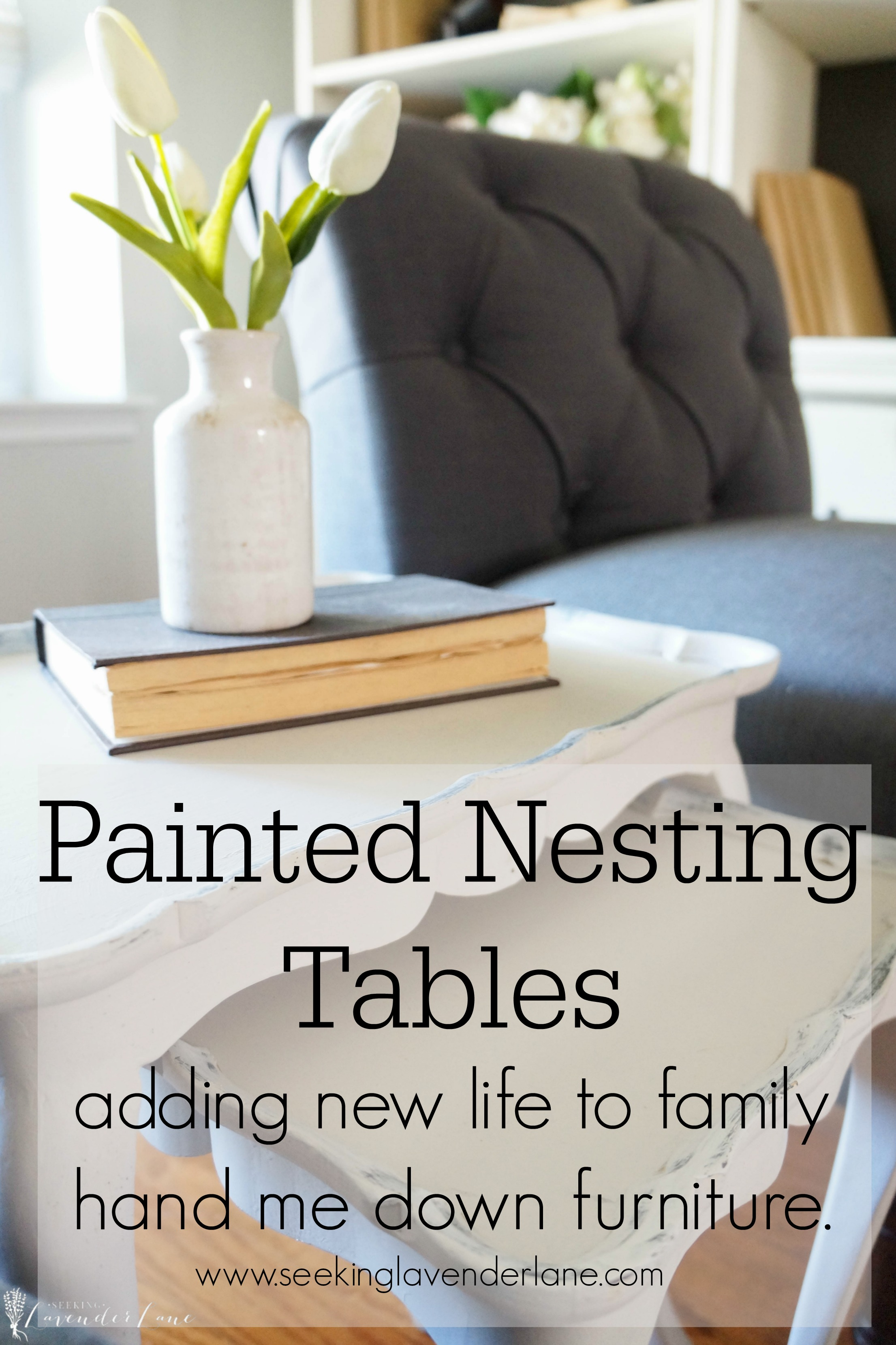 Gentil Painted Nesting Tables