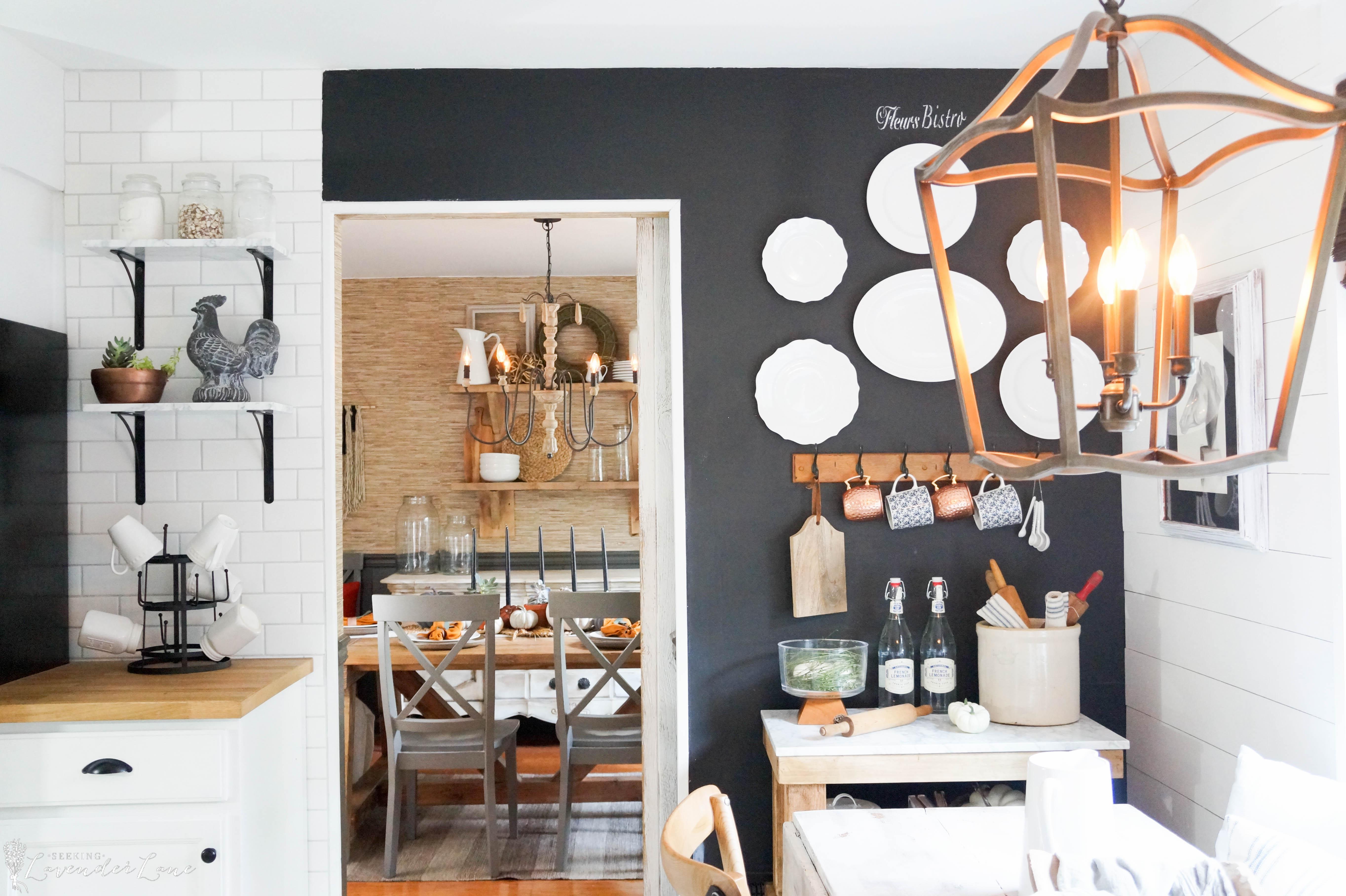 Farmhouse fall decor seeking lavendar lane - What is farmhouse style ...
