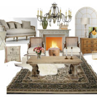 French Glam Living Room