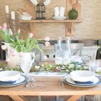 Modern Farmhouse Easter Table