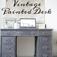 Vintage Painted Desk