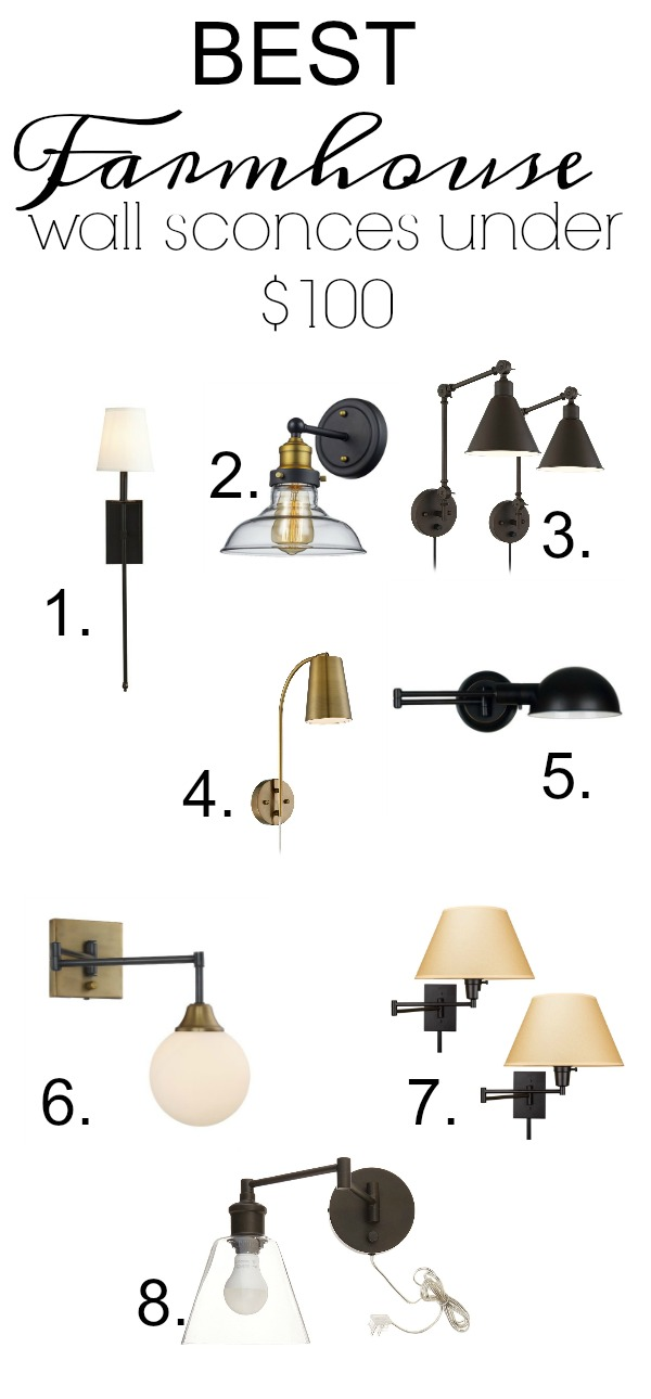meet 47198 95597 Best Farmhouse Wall Sconces Under $100 - Seeking Lavendar Lane