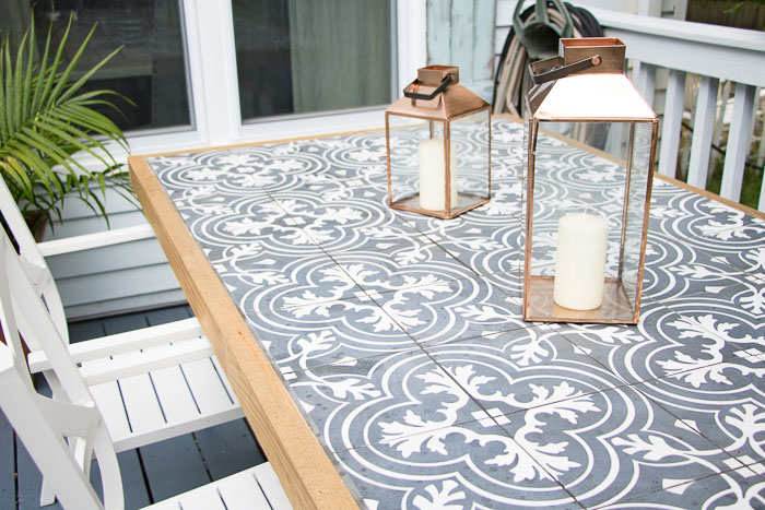 Tile Table Top - Interior Design 3d •
