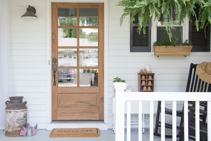 Front Porch Ideas Small Front Porch Makeover Seeking Lavender Lane