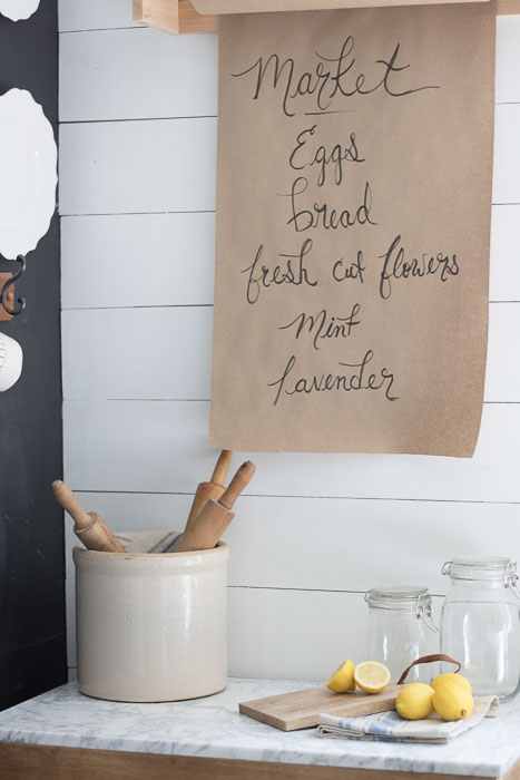 Farmhouse Butcher Paper Holder