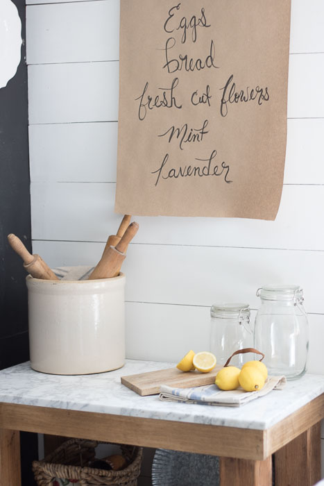 Farmhouse Decor Butcher Paper Holder