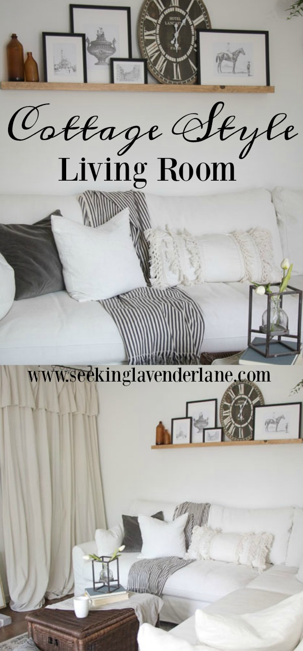 Cottage Style Living Room IKEA makeover
