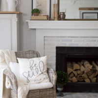 Vintage Cottage Living Room Makeover