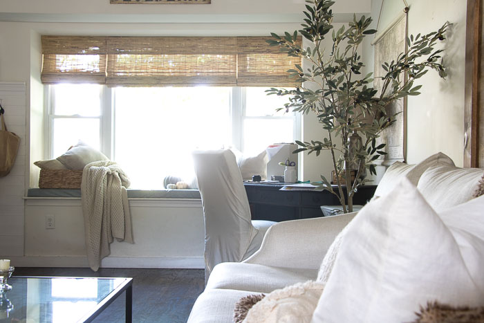 Bamboo Blinds from Select Blinds Seeking Lavendar Lane