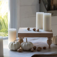 Fall DIY Pedestal Tray