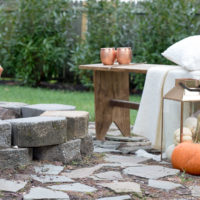 How to Set a Perfect Fall Fire Pit