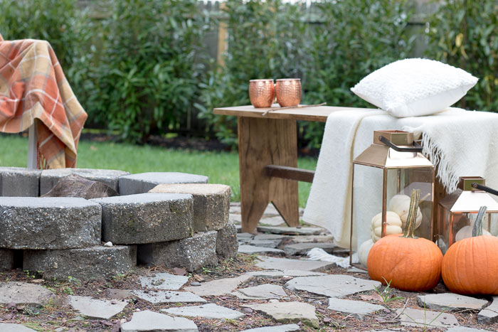 How To Set A Perfect Fall Fire Pit Seeking Lavendar Lane