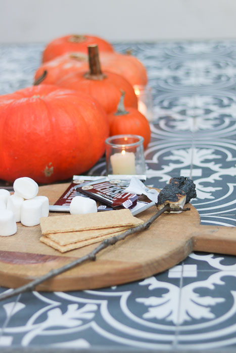 pumpkins and s'mores