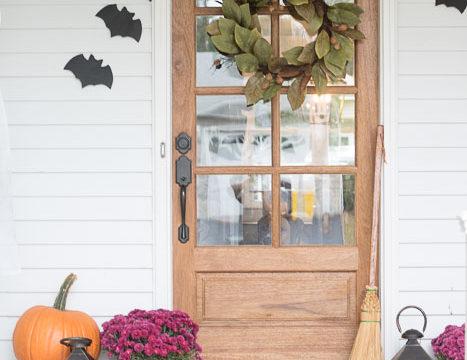 Classy Halloween Porch
