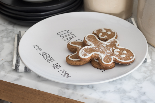 Santa Cooke Platter