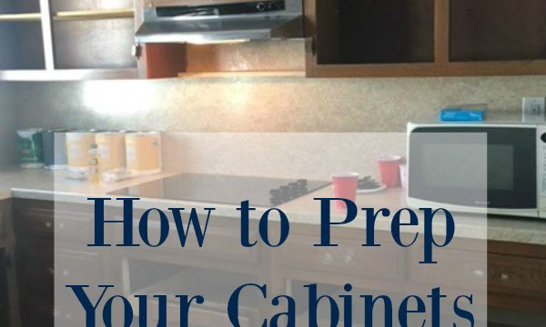 Prep Your Cabinets to Paint