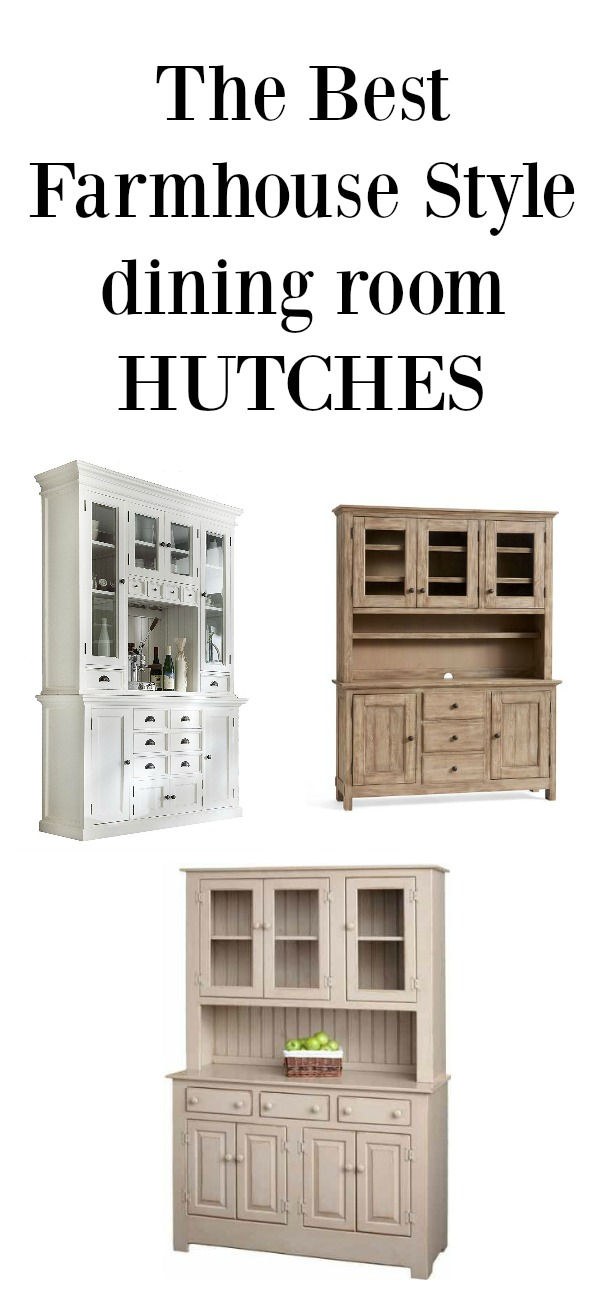 The Best Farmhouse Style Dining Room Hutches - Seeking ...