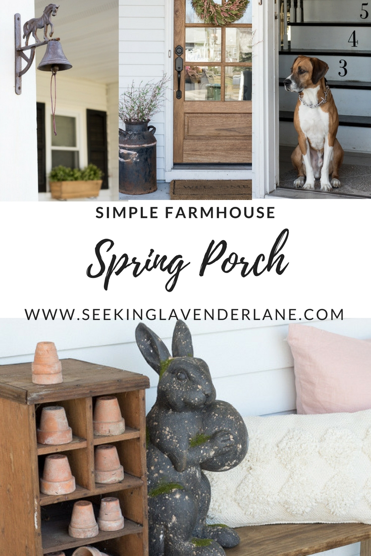 Simple Spring Porch