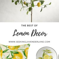 The Best of Lemon Decor
