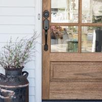 Spring Porch Decorating
