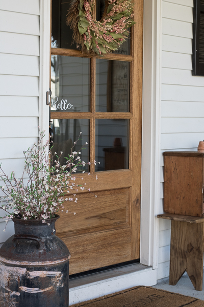 spring porch tour