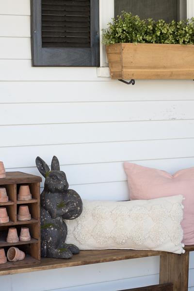 spring farmhouse porch
