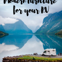 RV Living: Modern Furniture for Your RV