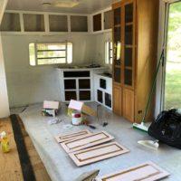 RV Progress, the never ending painting!