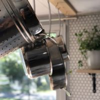 Storage Ideas for the RV: Easy RV Pot Rack