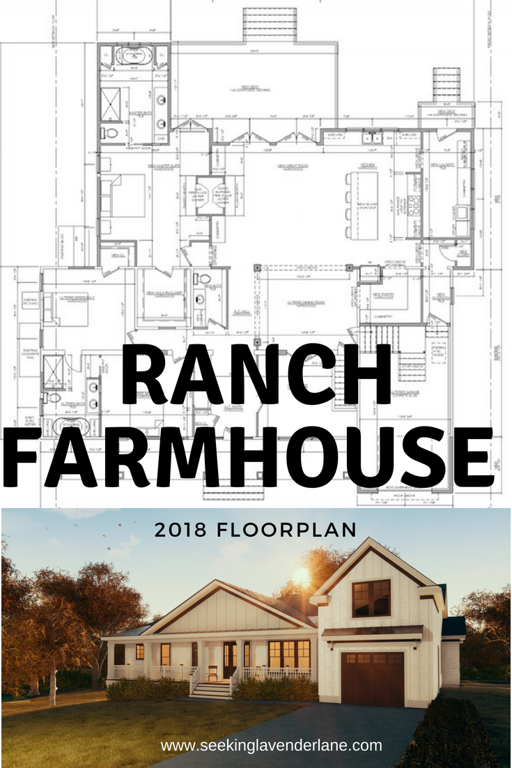 Ranch Farmhouse Floorplan