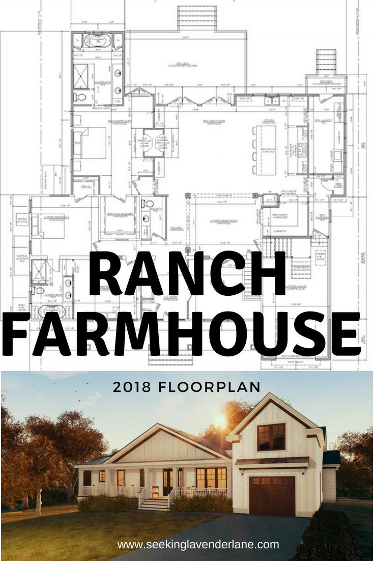 Ranch Farmhouse Floorplan