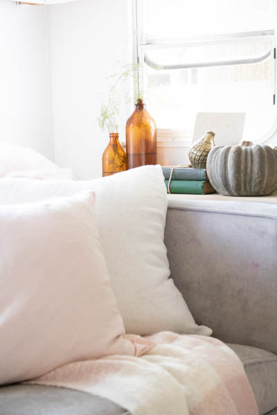 blush decor for fall