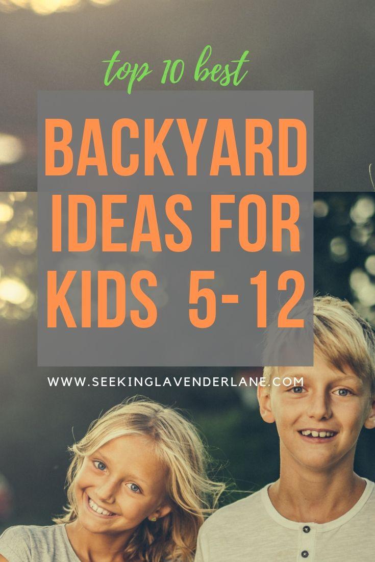 Backyard Ideas For Older Children Seeking Lavender Lane