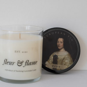 soy candle-fig