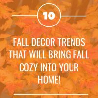 What's in for Fall Home Decor 2019